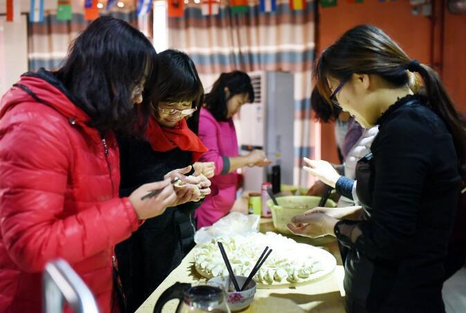 dc开关电源模块生产厂家年会包饺子活动